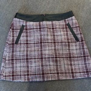 Nordstrom Frenchi Plaid Skirt